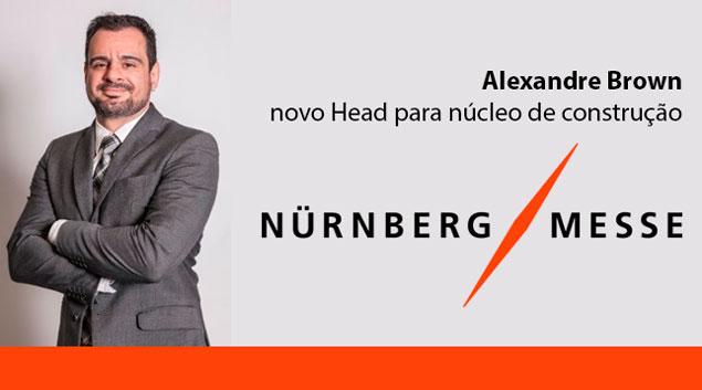 Alexandre Brown Novo Head NurnbergMesse Brasil