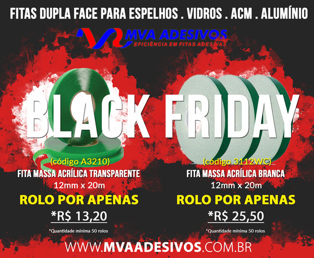 Black Friday MVA Adesivos