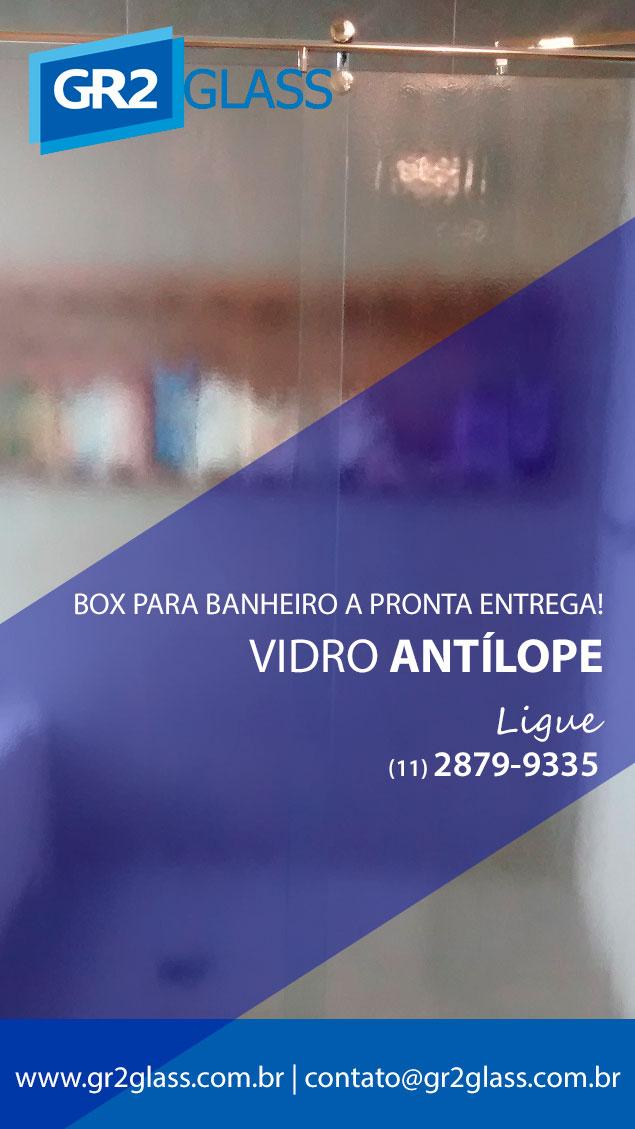 Box de Vidro Antilope