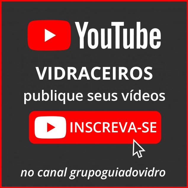 canal grupoguiadovidro no youtube inscreva-se