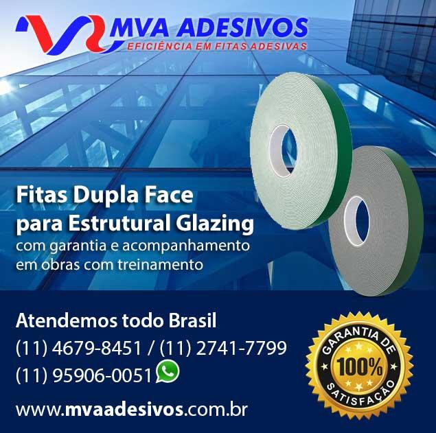Fita Dupla Face para Estrutural Glazing