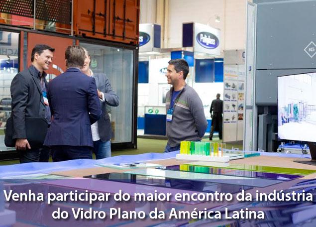 Glass South America Feira Vidro Plano 2018