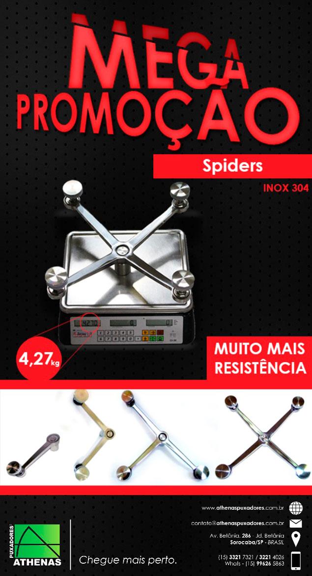 Mega Promoção Spiders