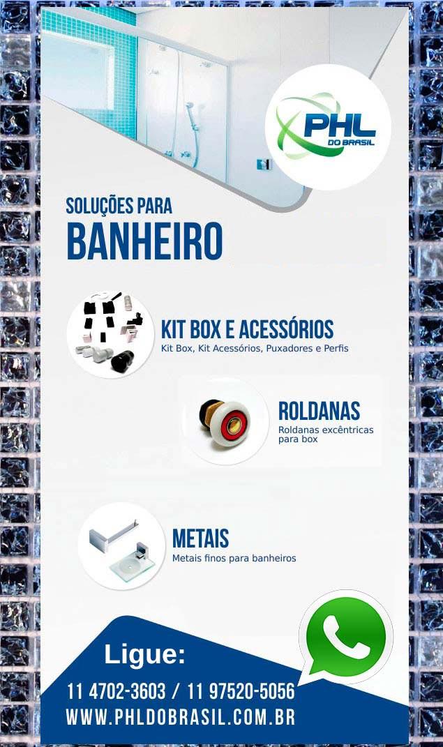 Soluções para Banheiro PHL do Brasil