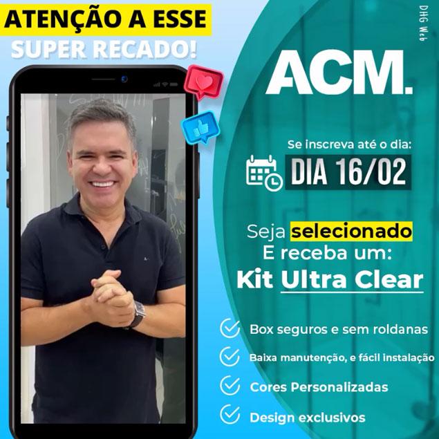 Vidraceiros e Serralheiros de todo Brasil ganhe um Kit Ultra Clear
