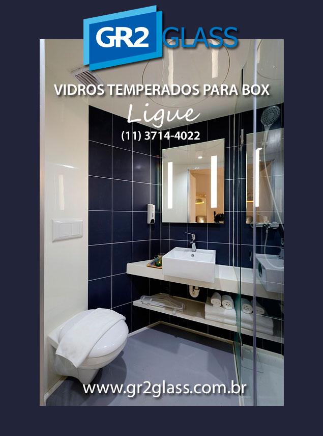 Vidros Temperados para Box de Banheiro