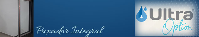 Puxador Integral Janela Ultra Option