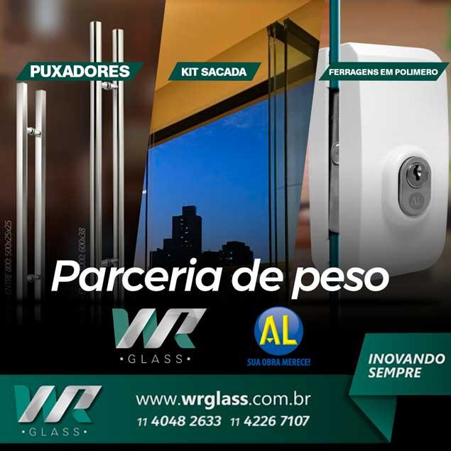 WR Glass e AL Indústria Estreitam Parceria